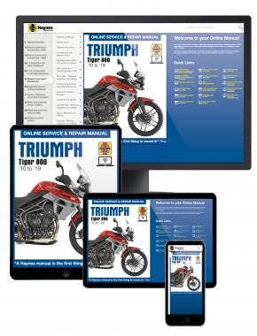 Triumph Tiger 800 (2010-2019) Haynes Online Manual