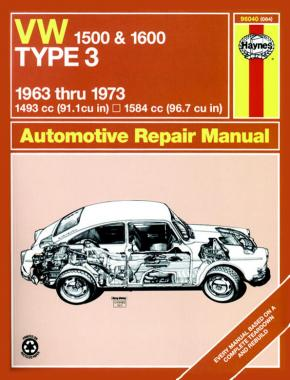 VW Type 3 (63 - 73) Haynes Repair Manual
