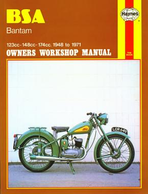 BSA Bantam (48 - 71) Haynes Repair Manual