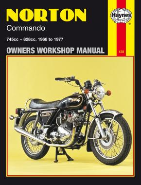 Norton Commando (68 - 77) Haynes Repair Manual