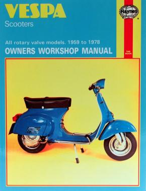 Vespa Scooters (59 - 78) Haynes Repair Manual