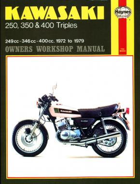 Kawasaki 250, 350 & 400 Triples (72 - 79) Haynes Repair Manual