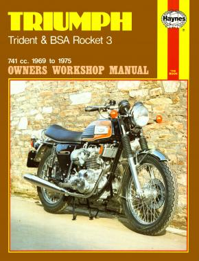 Triumph Trident & BSA Rocket 3 (69 - 75) Haynes Repair Manual