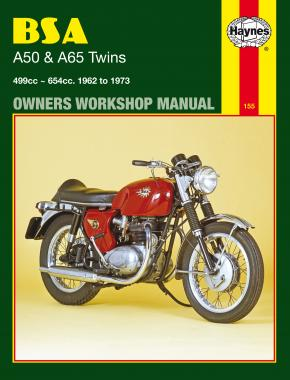 BSA A50 & A65 Twins (62 - 73) Haynes Repair Manual