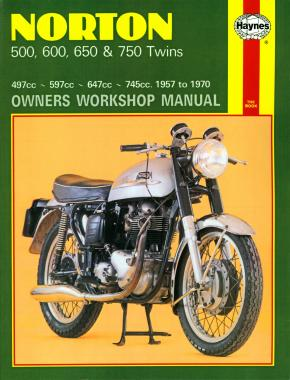 Norton 500, 600, 650 & 750 Twins (57 - 70) Haynes Repair Manual