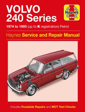 Volvo 240 Series Petrol (74 - 93) Haynes Repair Manual