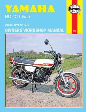 Yamaha RD400 Twin (75 - 79) Haynes Repair Manual