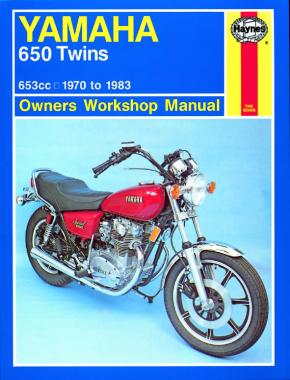 Yamaha 650 Twins (70 - 83) Haynes Repair Manual