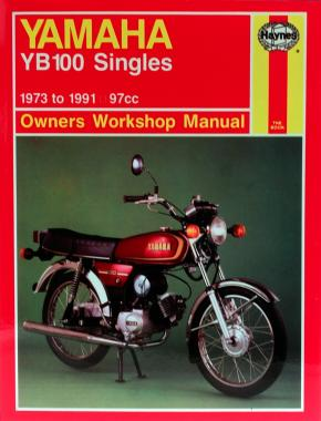 yamaha yb100 singles 73 91 haynes repair manual haynes publishing rh haynes com Yamaha SR500 Yamaha YB100 Tail Light