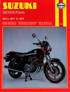 Suzuki GS1000 Four (77 - 79) Haynes Repair Manual
