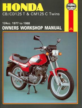 Honda CB/CD125T & CM125C Twins (77 - 88) Haynes Repair Manual