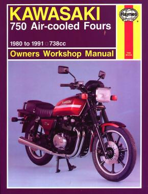 kawasaki 750 air cooled fours 80 91 haynes repair manual rh haynes com 84 Kawasaki 750 LTD 84 Kawasaki 750 LTD