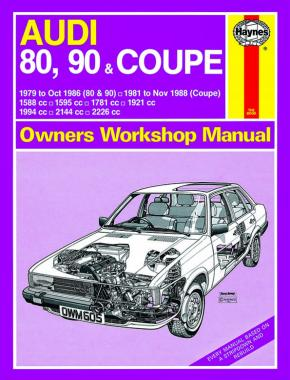 Audi 80, 90 & Coupe (1979 - November 1988) Haynes Repair Manual