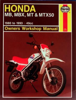 Honda MB, MBX, MT & MTX50 (80-93) Haynes Repair Manual