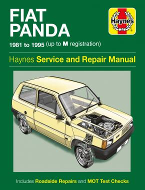 Fiat Panda (81 - 95) Haynes Repair Manual