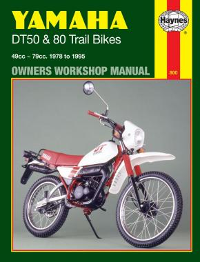 Yamaha DT50 & 80 Trail Bikes (78 - 95) Haynes Repair Manual