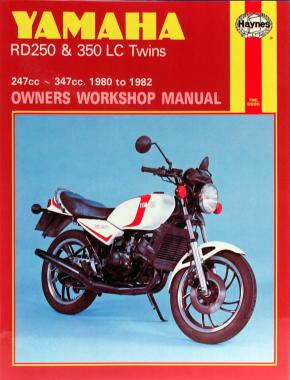 Yamaha RD250 & 350LC Twins (80 - 82) Haynes Repair Manual