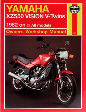 Yamaha XZ550 Vision V-Twins (82 - 85) Haynes Repair Manual