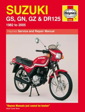 Suzuki GS, GN, GZ & DR125 Singles (82 - 05) Haynes Repair Manual