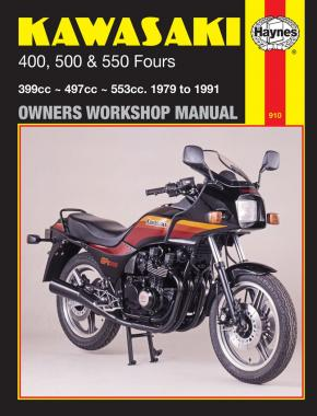 Kawasaki 400, 500 & 550 Fours (79 - 91) Haynes Repair Manual