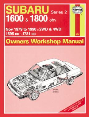 Subaru 1600 & 1800 (Nov 79 - 90) up to H Haynes Repair Manual (Classic Reprint)