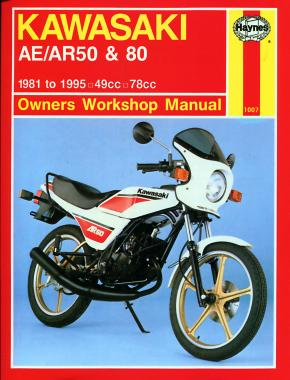 Kawasaki AE/AR 50 & 80 (81 - 95) Haynes Repair Manual