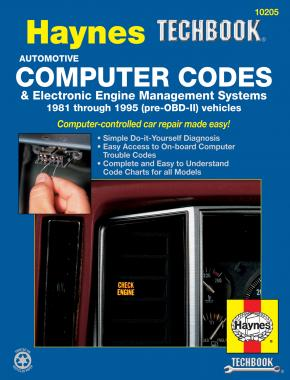 Automotive Computer Codes & Electronic Engine Management Systems (81-95) Haynes Techbook (USA)