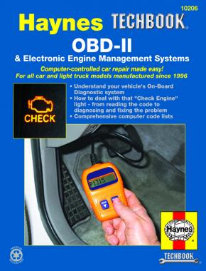 OBD-II & Electronic Engine Management Systems (96-on) Haynes Techbook (USA)