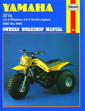 Yamaha ATV 3 & 4 wheelers, 2 & 4 stroke engines (80 - 85) Haynes Repair Manual