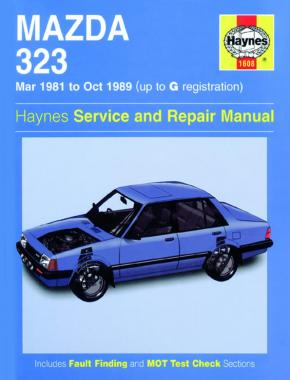 mazda 323 mar 81 oct 89 haynes repair manual haynes publishing rh haynes com 1988 mazda 323 owner's manual 1989 mazda 323 service manual
