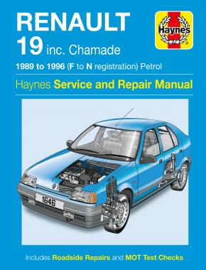 Renault 19 Petrol (89 - 96) Haynes Repair Manual