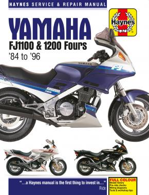 Yamaha FJ1100 & 1200 Fours (84 - 96) Haynes Repair Manual