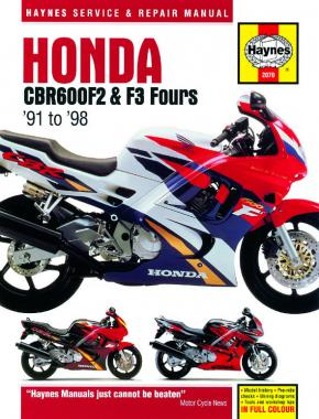 Honda CBR600F2 & F3 Fours (91 - 98) Haynes Repair Manual