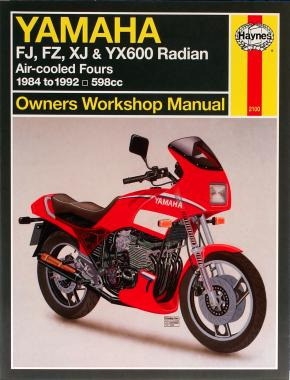 Yamaha FJ, FZ, XJ & YX600 Radian (84 - 92) Haynes Repair Manual