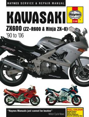 Kawasaki ZX600 (ZZ-R600 & Ninja ZX6) (90 - 06) Haynes Repair Manual