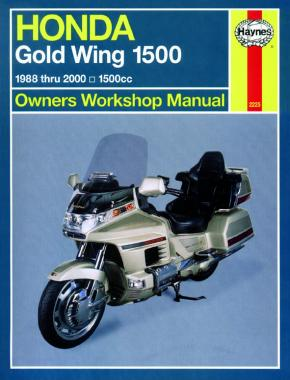 Honda Gold Wing 1500 (88 - 00) Haynes Repair Manual