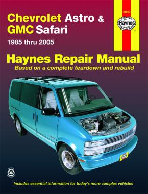 Chevrolet Astro and GMC Safari (1985-2005) Haynes Repair Manual (USA)