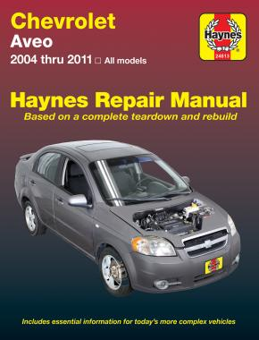 chevrolet aveo 04 11 haynes repair manual haynes publishing rh haynes com manual de chevrolet aveo 2005 manual de chevrolet aveo 2005