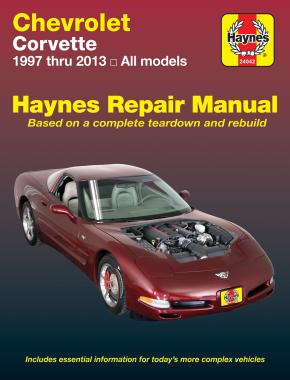 Chevrolet Corvette (97-13) Haynes Repair Manual (USA)