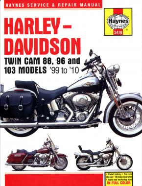 Harley-Davidson Twin Cam 88, 96 & 103 Models (99 - 10) Haynes Repair Manual