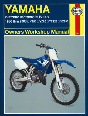 Yamaha 2-stroke Motocross Bikes (86 - 06) Haynes Repair Manual