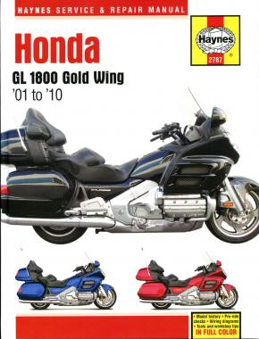 Honda GL1800 Gold Wing 1800 (01-10) Haynes Repair Manual