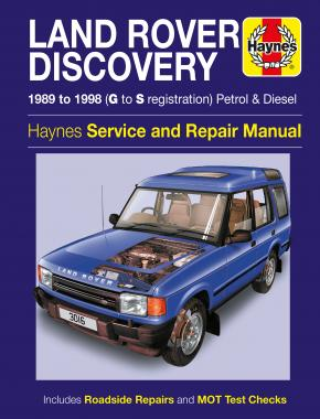 Land Rover Discovery (1989 - 1998) Repair Manuals