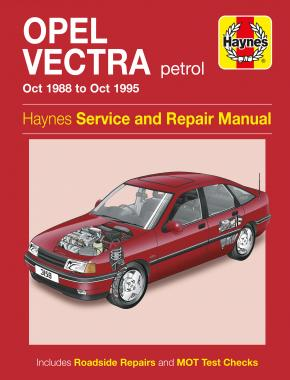 Opel Vectra Petrol (Oct 88 - Oct 95) Haynes Repair Manual