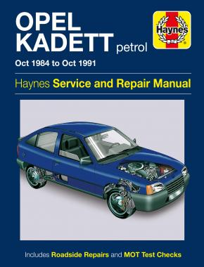 Opel Kadett (1984 - 1991) Repair Manuals