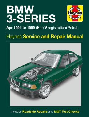 BMW 3-Series Petrol (Apr 91 - 99) Haynes Repair Manual