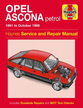 Opel Ascona Petrol (81 - 88) Haynes Repair Manual