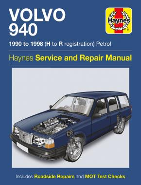 Volvo 940 Petrol (90 - 98) Haynes Repair Manual