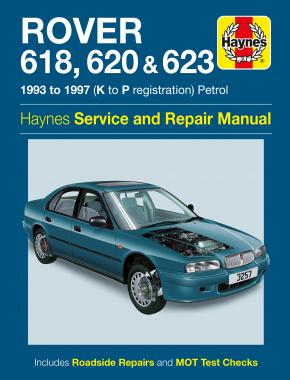 Rover 618, 620 & 623 Petrol (93 - 97) Haynes Repair Manual