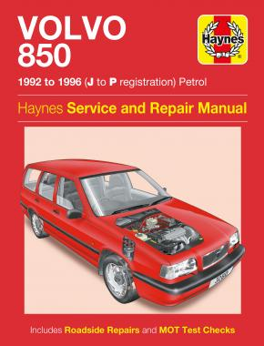 Volvo 850 Petrol (92 - 96) Haynes Repair Manual